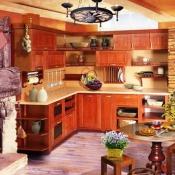 фото кухня Массив Эксклюзив ЗОВ